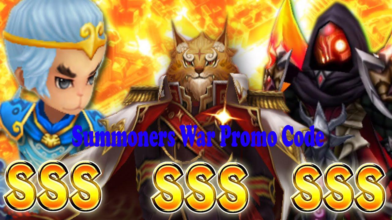 summoners war promo codes april 2019