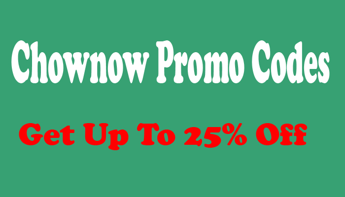 Chownow Promo Codes and Coupons