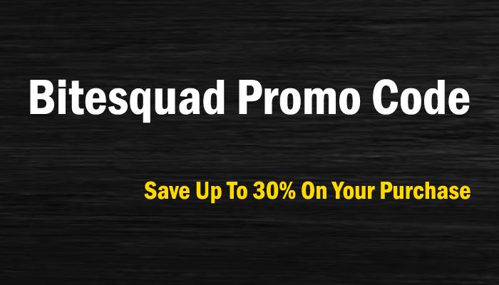 Bitesquad Promo Code