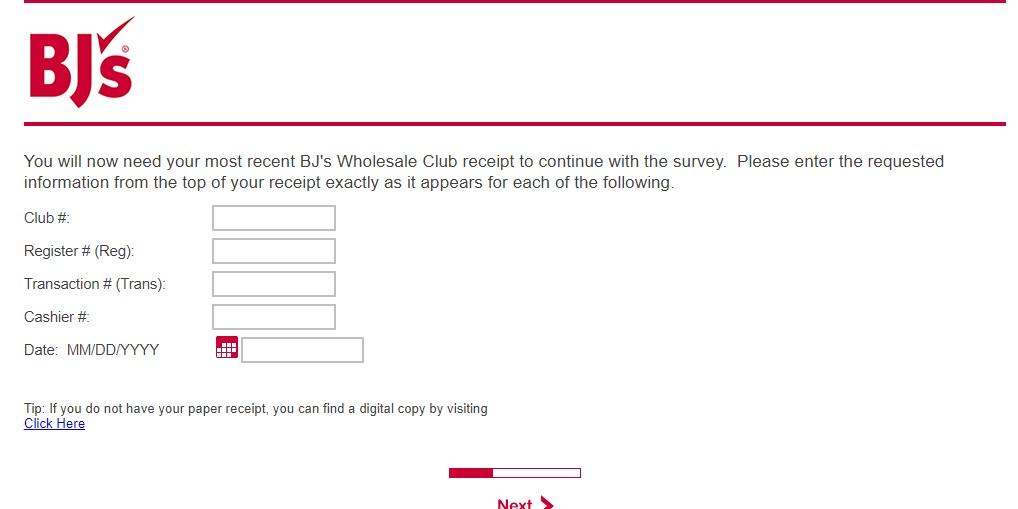 How to Take BJ's Survey